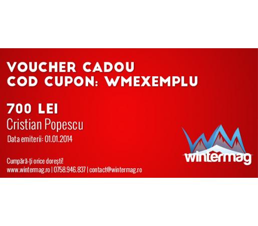 Voucher cadou Wintermag 700 lei