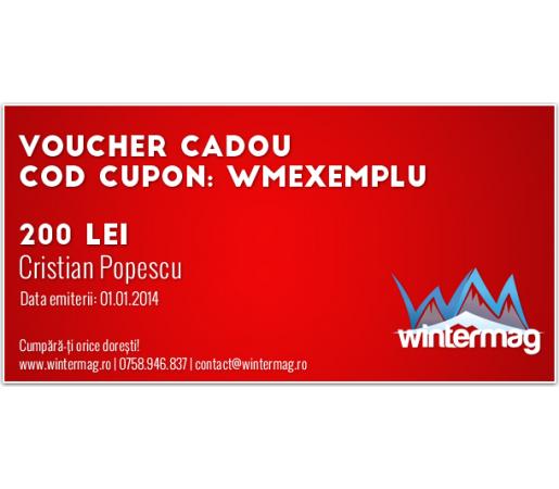Voucher cadou Wintermag 200 lei
