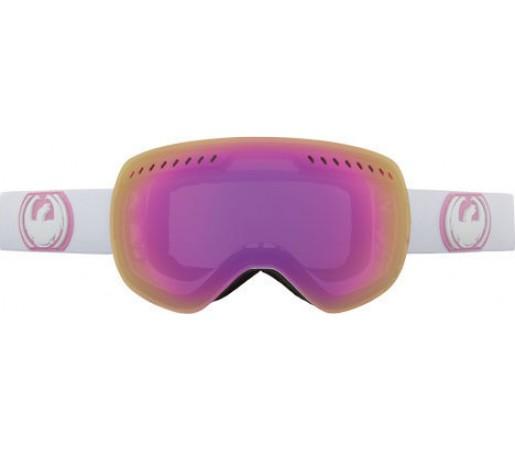 Ochelari Schi si Snowboard Dragon APXS White / Pink Ionzed + Jet Ion