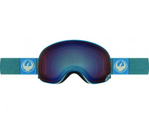 Ochelari schi si snowboard Dragon X2 Hone Blue / Lumalens Flash Blue + Lumalens Flash Green