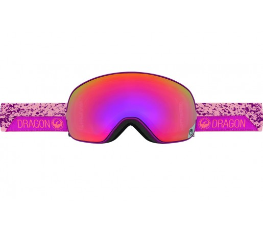 Ochelari schi si snowboard Dragon X2S Stone Pink / Purple Ion + Pink Ion