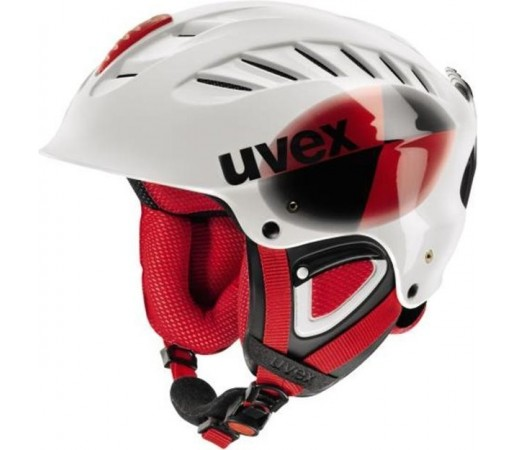 Casca Ski si Snowboard Uvex X-Ride Race Alb
