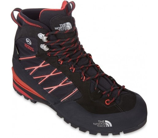 Incaltaminte hiking The North Face M Verto S3k Gtx Negru - Rosu