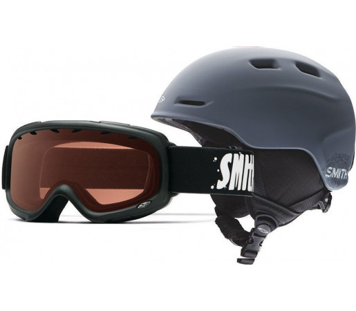 Casca Schi si Snowboard Smith Zoom JR / Gambler Black