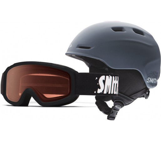 Casca Schi si Snowboard Smith Zoom JR / Sidekick Black