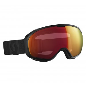 Ochelari de schi si snowboard Scott Fix Negri / Illuminator Red Chrome