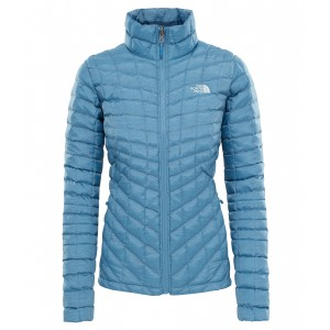 Geaca The North Face Thermoball Zip-In FZ W Albastru / Alb