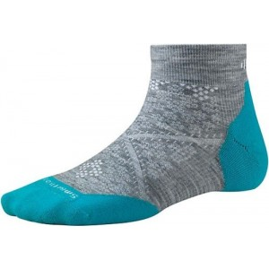 Sosete SmartWool W PHD Run Light Elite Low Cut Albastru/Gri