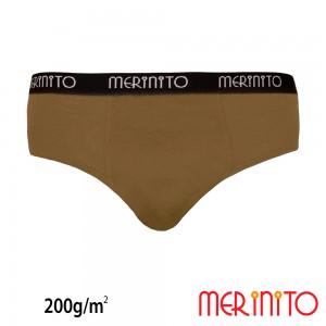 Lenjerie Barbati Merinito Heavy Duty Briefs 280g/mp Bej