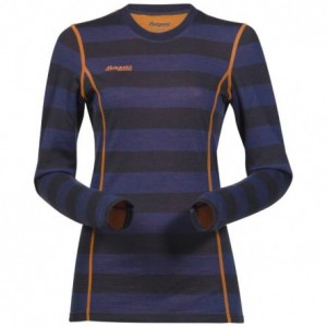 Bluza first layer Bergans Akeleie Lady Navy