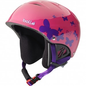 Casca Schi si Snowboard Bolle B-Kid Butterfly Roz