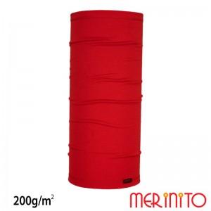 Neck Tube Merinito Rosu