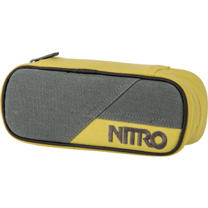 Penar Nitro Pencil Case Gun Metal Gri