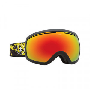 Ochelari schi si snowboard Electric EG2.5 Red/ Yellow Spatter Brose/ Silver Chrome + Light Green
