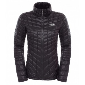 Geaca The North Face W Thermoball Full Zip Neagra