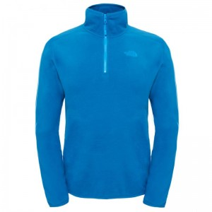 Polar The North Face M 100 Glacier 1/4 Zip Albastru/Negru