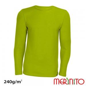 Bluza First Layer Merinito/ Bambus Barbati Lime