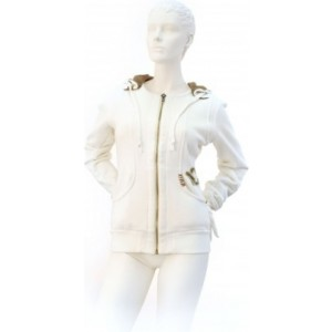 Hanorac Volkl Hooded Sweat Jacket Yard Sale White