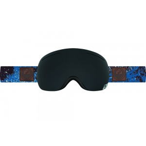 Ochelari schi si snowboard Dragon X1 Patina Blue / Dark Smoke + Yellow Red Ion