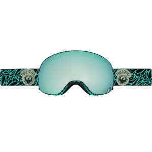 Ochelari schi si snowboard Dragon X2 Pow Heads Blue / Mirror Ion + Yellow Blue Ion
