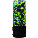 Neck Tube Polar Buff Air Cross Jr Negru/ Verde