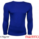 Bluza First Layer Barbati Merinito 170g/mp Albastra
