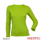 Bluza First Layer Femei Merinito Verde
