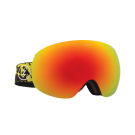 Ochelari schi si snowboard Electric EG3 Red/ Yellow Splatter Brose/ Blue Chrome + Light Green