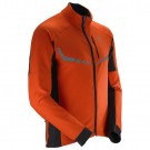Windstopper Salomon M S-Lab XC WS Portocalie/Neagra