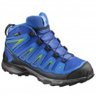 Incaltaminte hiking Salomon X Ultra Mid GTX J Albastra