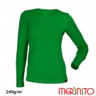 Bluza First Layer Merinito/ Bambus Femei Verde