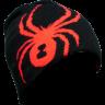 Caciula Spyder Boy's Reversible Bug Negru/Rosu