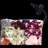 Casti audio Skullcandy Dime Coral/Floral/Burgundy
