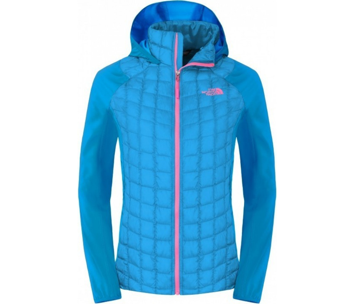 Geaca The North Face W Thermoball Hybrid Hoodie Albastra 3164f35ff234