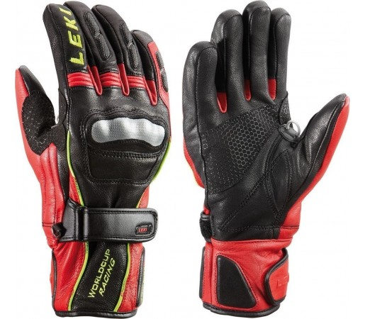 Mansui Schi si Snowboard Leki WC Racing Ti S Black/Red