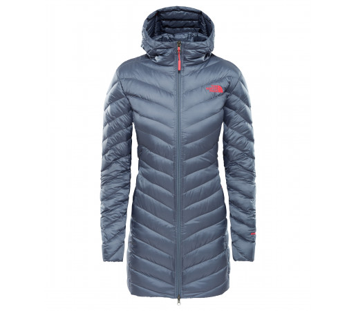 Geaca Femei Hiking The North Face Trevail Parka Gri