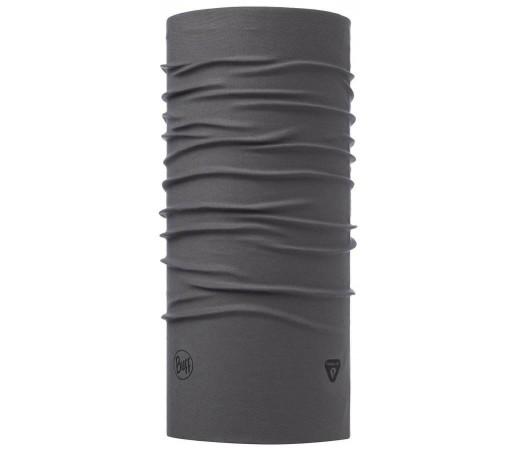 Neck Tube Buff Thermonet Solid Grey Castlerock