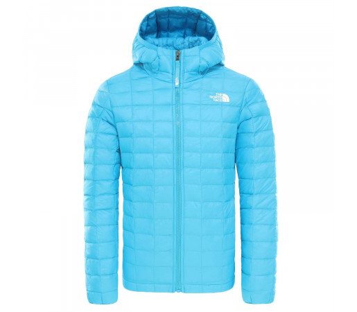 Geaca Drumetie Copii The North Face Girl'S Thermoball Eco Hoodie Acoustic Blue (Bleu)