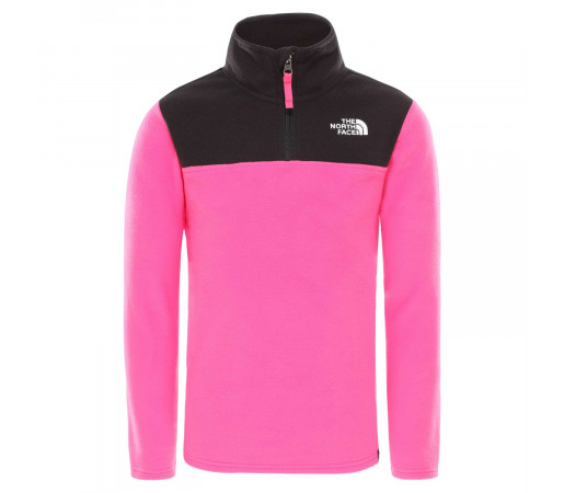 Polar Copii The North Face Youth Glacier 1/4 Zip Mr. Pink (Roz)