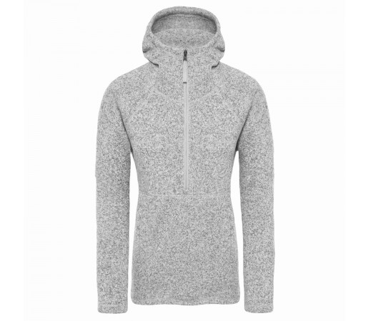 Hanorac Femei The North Face Crescent Hoodie Tnf Light Grey Heather (Gri)