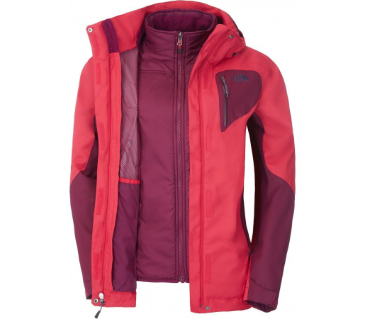 Geaca The North Face W Zenith Triclimate Pink/Purple
