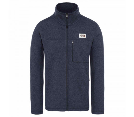 Polar Drumetie Barbati The North Face Gordon Lyons Full Zip Urban Navy Heat (Bleumarin)