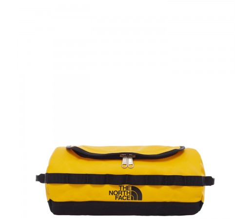 Geanta Voiaj The North Face Basecamp Travel Canister- L 5.7L Summit Gold/Tnf Black (Galben)