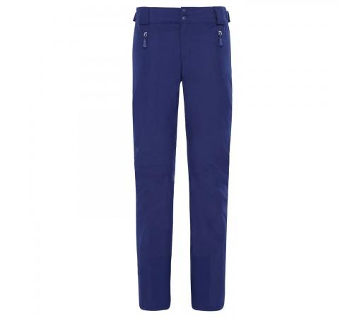 Pantaloni Ski Femei The North Face Presena Pant Flag Blue Regular (Bleumarin)