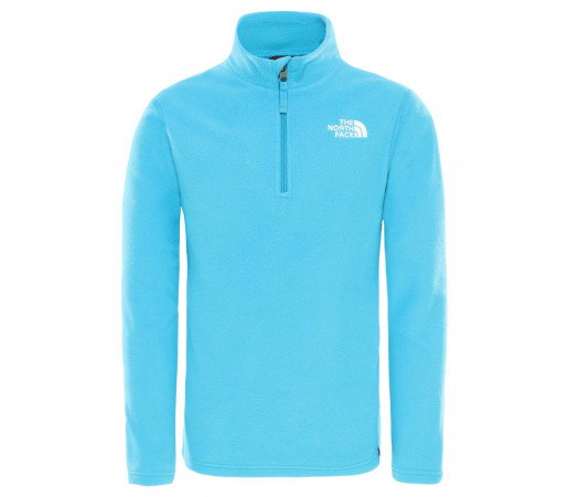 Polar Copii The North Face Youth Glacier 1/4 Zip Acoustic Blue (Bleu)