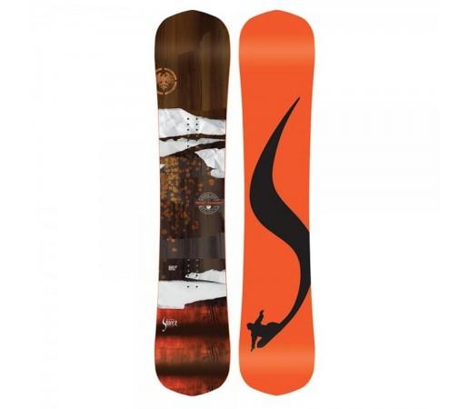 Placa Snowboard Unisex Never Summer Shaper Twin 153CC Portocaliu