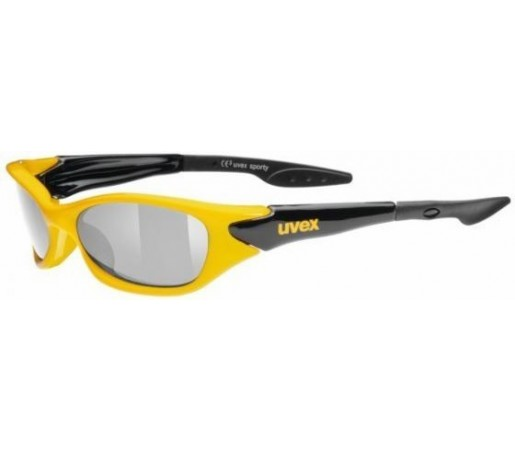 Ochelari de soare Uvex Sporty Negru/Galben