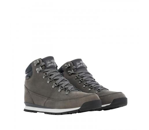 Ghete Barbati The North Face Back To Berkeley Redux Leather Zinc Grey/Ebony Grey (Gri)