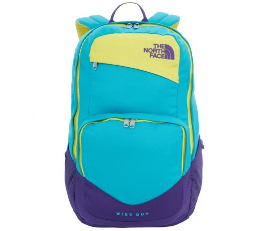 Rucsac The North Face Wise Guy Turquoise/Albastru/Galben