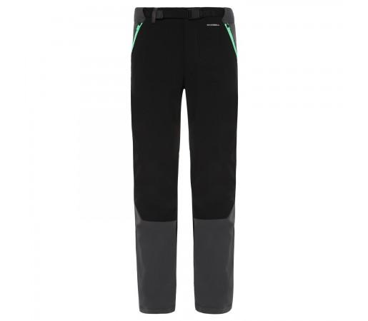 Pantaloni Drumetie Barbati The North Face Diablo Ii Tnf Black/Green Regular (Negru)